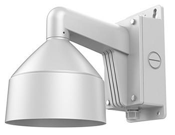 Hikvision DS-1273ZJ-DM26-B Fali tartó dómkamerákhoz; integrált kötődobozzal