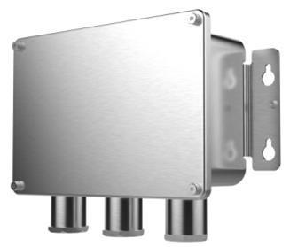 Hikvision DS-1284ZJ-M Kötődoboz; rozsdamentes acél