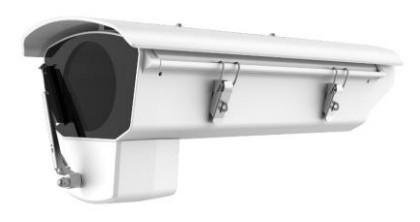 Hikvision DS-1331HZ-W Kültéri kameraház; ablaktörlővel