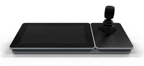 Hikvision DS-1600KI (B) IP vezérlő; 10 színes TFT érintőkijelzős monitorral; joystick-kal