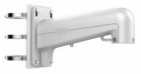 Hikvision DS-1602ZJ-pole Kültéri fali tartó 5 speed dómhoz; oszlopkonzollal