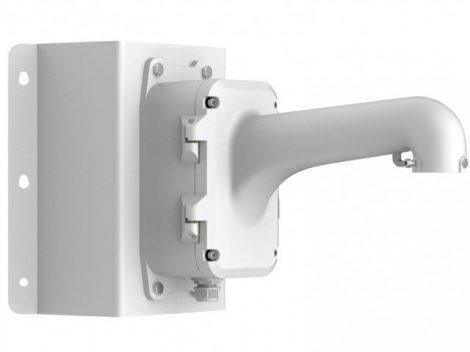 Hikvision DS-1604ZJ-box-corner Kültéri fali tartó 5 speed dómhoz; kötődobozzal; sarokadapterrel