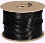 Hikvision DS-1LC1SCA2C-200B Koaxiális kábel RG59 + 2 db ér a tápfeszültség átviteléhez; 200 m kiszerelésben