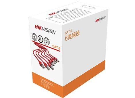 Hikvision DS-1LN6-UU UTP fali kábel, cat6; 305 fm; dobozos kiszerelés; 0,565 mm rézmag