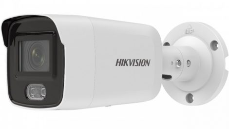 Hikvision DS-2CD2027G2-LU (2.8mm) 2 MP WDR fix ColorVu AcuSense IP csőkamera; láthatófény; beépített mikrofon