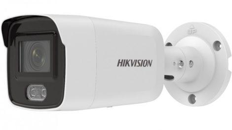 Hikvision DS-2CD2047G2-LU (4mm)(C) 4 MP WDR fix ColorVu AcuSense IP csőkamera; láthatófény; beépített mikrofon