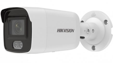 Hikvision DS-2CD2047G2-L (2.8mm)(C) 4 MP WDR fix ColorVu AcuSense IP csőkamera; láthatófény