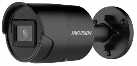 Hikvision DS-2CD2086G2-IU-B (2.8mm)(C) 8 MP AcuSense WDR fix EXIR IP csőkamera; beépített mikrofon; fekete