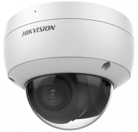 Hikvision DS-2CD2166G2-ISU (4mm)(C) 6 MP WDR fix EXIR IP dómkamera; hang I/O; riasztás I/O