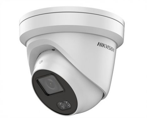 Hikvision DS-2CD2327G1-LU (4mm) 2 MP WDR fix ColorVu IP dómkamera; beépített mikrofonnal