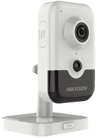 Hikvision DS-2CD2421G0-IW (4mm)(W) 2 MP WDR beltéri WiFi fix EXIR IP csempekamera PIR szenzorral; beépített mikrofon és hangszóró