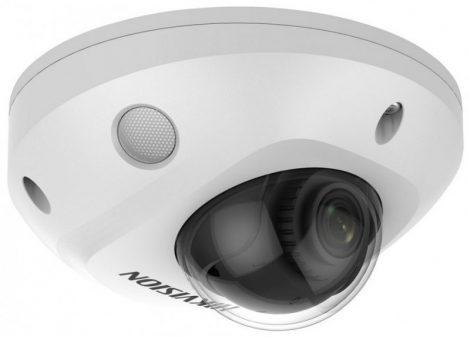Hikvision DS-2CD2546G2-IS (2.8mm)(C) 4 MP AcuSense WDR fix EXIR IP mini dómkamera; hang I/O; mikrofon