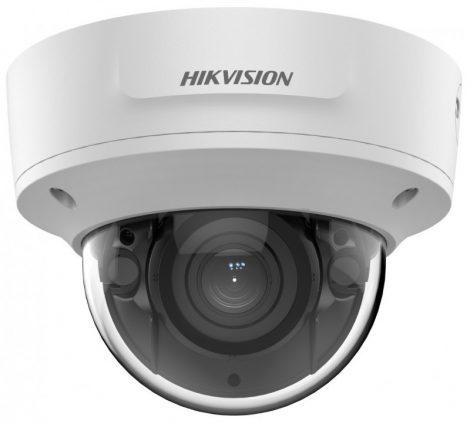 Hikvision DS-2CD2763G2-IZS (2.8-12mm) 6 MP WDR motoros zoom EXIR IP dómkamera; hang I/O; riasztás I/O