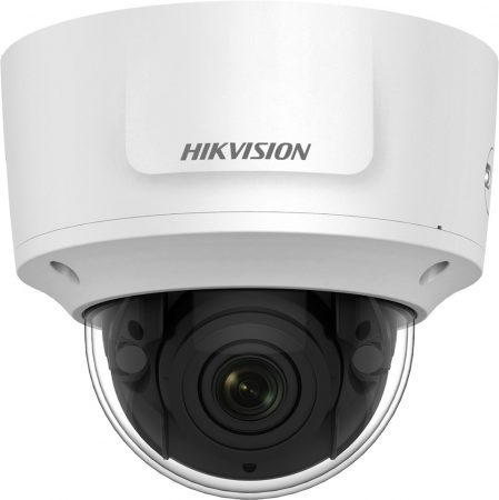 Hikvision DS-2CD2765FWD-IZS (2.8-12mm) 6 MP WDR motoros zoom EXIR IP dómkamera; hang be- és kimenet