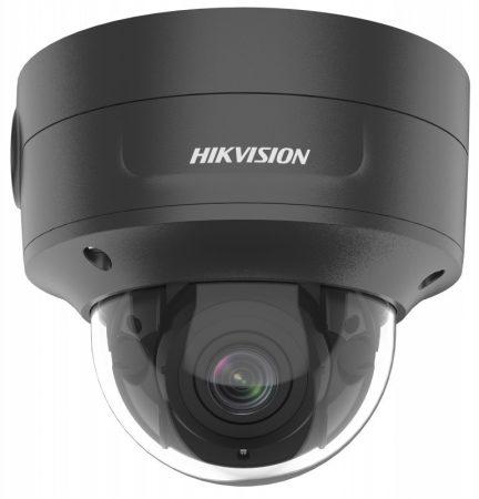 Hikvision DS-2CD2786G2-IZS-B (2.8-12)(C) 8 MP AcuSense WDR motoros zoom EXIR IP dómkamera; hang I/O; riasztás I/O; integrált RJ45; fekete