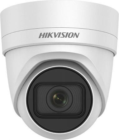 Hikvision DS-2CD2H25FWD-IZS (2.8-12mm) 2 MP WDR motoros zoom EXIR IP dómkamera; hang be- és kimenet