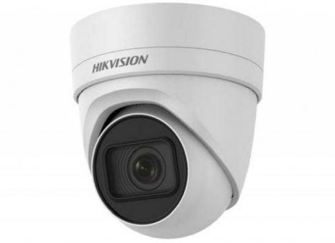 Hikvision DS-2CD2H45FWD-IZS(2.8-12mm)(B) 4 MP WDR motoros zoom EXIR IP dómkamera; hang be- és kimenet