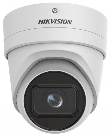 Hikvision DS-2CD2H46G2-IZS (2.8-12mm) 5MP@20fps/4MP@25fps AcuSense WDR motoros zoom EXIR IP dómkamera; hang I/O; riasztás I/O