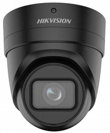 Hikvision DS-2CD2H86G2-IZS-B (2.8-12)(C) 8 MP AcuSense WDR motoros zoom EXIR IP dómkamera; hang I/O; riasztás I/O; fekete
