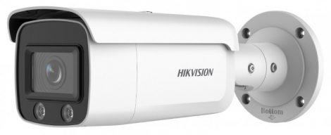 Hikvision DS-2CD2T87G2-L (4mm) 8 MP WDR fix ColorVu AcuSense IP csőkamera; láthatófény