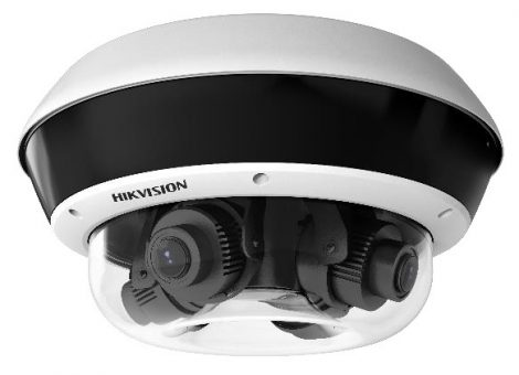 Hikvision DS-2CD6D24FWD-IZHS (2.8-12mm) PanoVu Flexible 4x2 MP vandálbiztos EXIR IP panorámakamera; hang és riasztás be- és kimenet