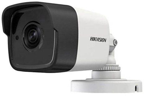 Hikvision DS-2CE16H0T-ITFS (2.8mm) 5 MP THD fix EXIR csőkamera; OSD menüvel; TVI/AHD/CVI/CVBS kimenet; koax audio