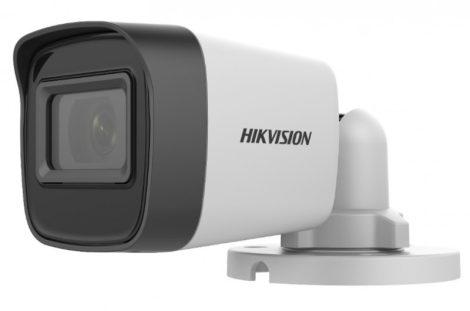 Hikvision DS-2CE16H0T-ITFS (3.6mm) 5 MP THD fix EXIR csőkamera; OSD menüvel; TVI/AHD/CVI/CVBS kimenet; koax audio