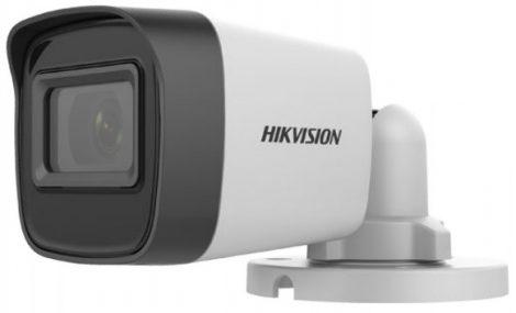 Hikvision DS-2CE16H0T-ITPF (2.4mm) (C) 5 MP THD fix EXIR csőkamera; OSD menüvel; TVI/AHD/CVI/CVBS kimenet