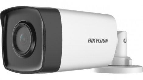 Hikvision DS-2CE17H0T-IT5F (3.6mm) 5 MP THD fix EXIR csőkamera; OSD menüvel; TVI/AHD/CVI/CVBS kimenet