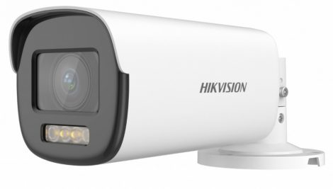 Hikvision DS-2CE19DF8T-AZE (2.8-12mm) 2 MP ColorVu THD WDR motoros zoom csőkamera; OSD menüvel; PoC