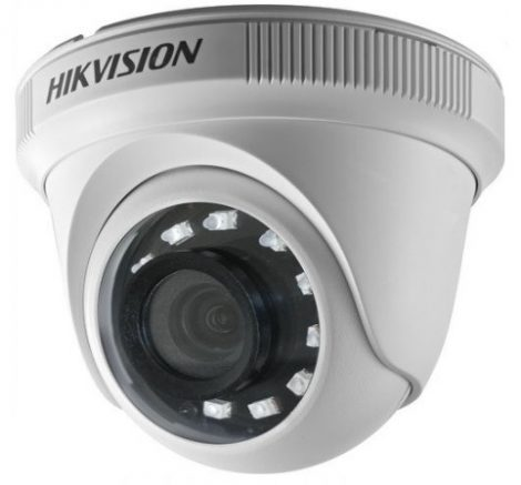 Hikvision DS-2CE56D0T-IRF (2.8mm) (C) 2 MP THD fix IR dómkamera; TVI/AHD/CVI/CVBS kimenet