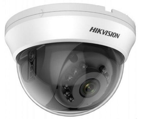 Hikvision DS-2CE56D0T-IRMMF (2.8mm) (C) 2 MP THD fix IR dómkamera; TVI/AHD/CVI/CVBS kimenet