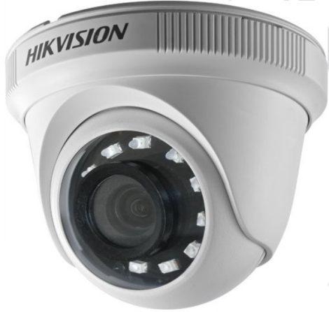 Hikvision DS-2CE56D0T-IRPF (2.8mm) (C) 2 MP THD fix IR dómkamera; TVI/AHD/CVI/CVBS kimenet