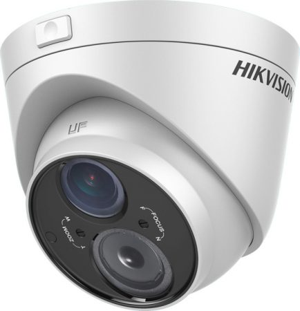 Hikvision DS-2CE56D5T-VFIT3 (2.8-12mm) 2 MP THD WDR varifokális EXIR dómkamera; OSD menüvel