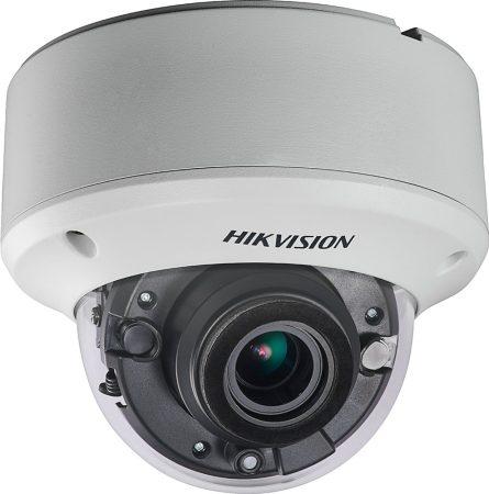 Hikvision DS-2CE56D8T-AVPIT3ZF(2.7-13.5) 2 MP THD WDR motoros zoom EXIR dómkamera; OSD menüvel; TVI/AHD/CVI/CVBS kimenet