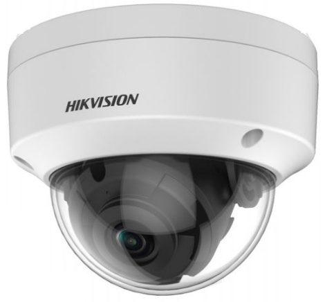 Hikvision DS-2CE57H0T-VPITF (3.6mm) (C) 5 MP THD vandálbiztos fix EXIR dómkamera; OSD menüvel; TVI/AHD/CVI/CVBS kimenet