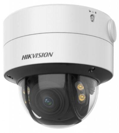 Hikvision DS-2CE59DF8T-AVPZE (2.8-12mm) 2 MP ColorVu THD vandálbiztos motoros zoom dómkamera; OSD menüvel; PoC