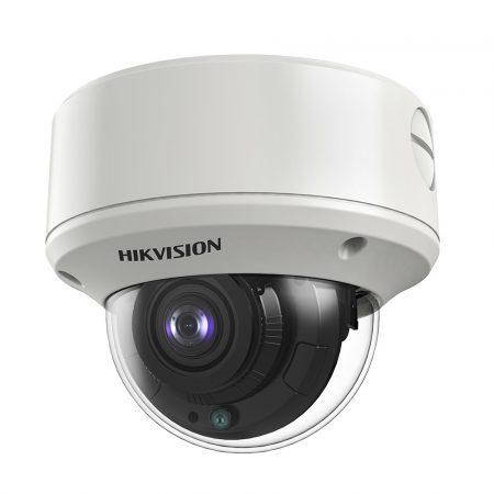 Hikvision DS-2CE59U7T-AVPIT3ZF(2.7-13.5) 8 MP THD WDR motoros zoom EXIR dómkamera; OSD menüvel