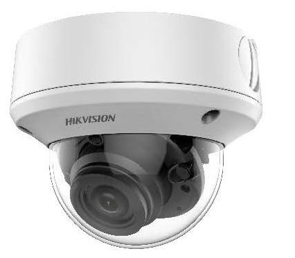 Hikvision DS-2CE5AU7T-AVPIT3ZF(2.7-13.5) 8 MP THD vandálbiztos motoros zoom EXIR dómkamera; OSD menüvel