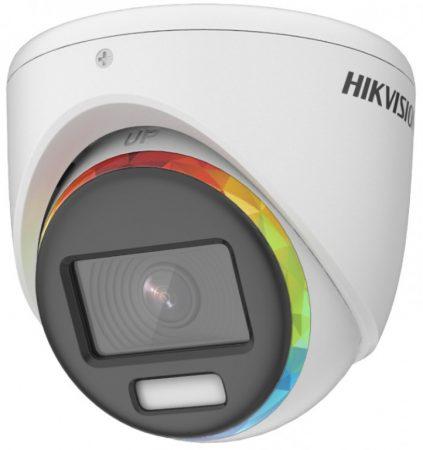 Hikvision DS-2CE70DF8T-MF (2.8mm) 2 MP ColorVu THD WDR fix dómkamera; OSD menüvel