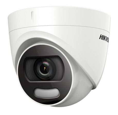 Hikvision DS-2CE72DFT-F28 (2.8mm) 2 MP ColorVu THD WDR fix dómkamera; OSD menüvel
