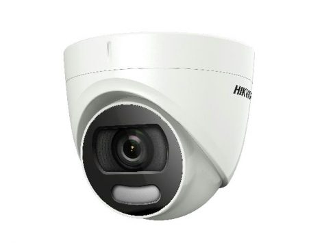 Hikvision DS-2CE72DFT-F (3.6mm) 2 MP ColorVu THD WDR fix dómkamera; OSD menüvel