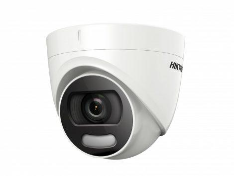 Hikvision DS-2CE72HFT-F (3.6mm) 5 MP ColorVu THD WDR fix dómkamera; OSD menüvel