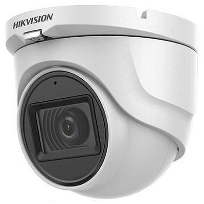 Hikvision DS-2CE76H0T-ITMFS (3.6mm) 5 MP THD fix EXIR dómkamera; OSD menüvel; TVI/AHD/CVI/CVBS kimenet; koax audio