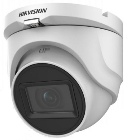 Hikvision DS-2CE76H0T-ITMF (2.4mm) (C) 5 MP THD fix EXIR dómkamera; OSD menüvel; TVI/AHD/CVI/CVBS kimenet