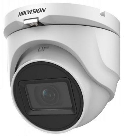 Hikvision DS-2CE76H0T-ITMF (2.8mm) (C) 5 MP THD fix EXIR dómkamera; OSD menüvel; TVI/AHD/CVI/CVBS kimenet