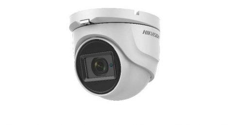 Hikvision DS-2CE76H8T-ITMF (2.8mm) 5 MP THD WDR fix EXIR dómkamera; OSD menüvel; TVI/AHD/CVI/CVBS kimenet