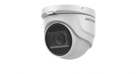 Hikvision DS-2CE76U7T-ITMF (2.8mm) 8 MP THD fix EXIR dómkamera; OSD menüvel; TVI/AHD/CVI/CVBS kimenet