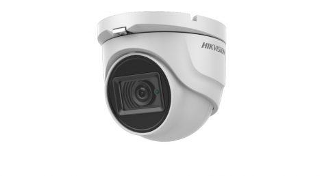 Hikvision DS-2CE76U7T-ITMF (3.6mm) 8 MP THD fix EXIR dómkamera; OSD menüvel; TVI/AHD/CVI/CVBS kimenet