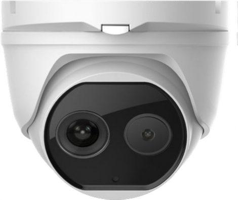 Hikvision DS-2TD1217B-3/PA (B)(C) IP hő- (160x120) és láthatófény (4 MP) kamera; testhőmérsékletre optimalizált (30°C - 45°C)
